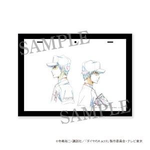 画像1: ダイヤのA actII 原画フレーム (降谷&沢村)