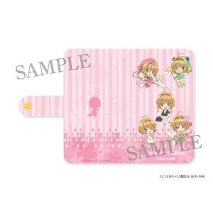 画像1: カードキャプターさくら クリアカード編 手帳型スマホケース